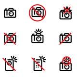 Geen toegestane foto Royalty-vrije Stock Foto