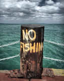 Geen visserij Stock Afbeelding