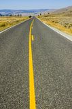 Geen voorbijgaande streek in Yellowstone stock foto's