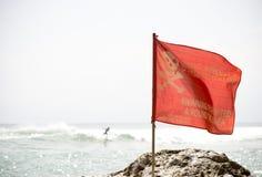 Geen Zwemmende vlag Royalty-vrije Stock Afbeeldingen
