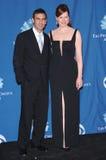 Geena Davis,Reza Jarrahy Royalty Free Stock Photos