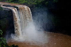 Geera Waterfalls - Shot in Gujarat, India. Geera Waterfalls is one of the best waterfalls in Gujarat, India Stock Images