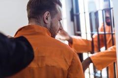 geerntetes Bild des Gefängniswärters stockbild