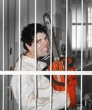 Geestelijk onstabiele patiënt Royalty-vrije Stock Foto's