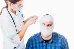 Geestelijk onstabiele patiënt stock fotografie