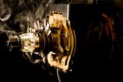 Rohr mit Rauche lizenzfreie stockfotografie