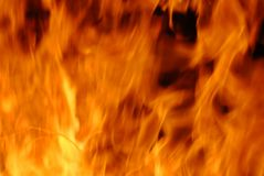 Gefährliche Flamme Lizenzfreies Stockfoto
