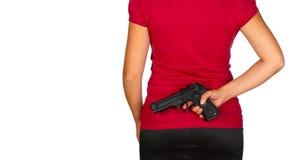 Gefährliche Frau Lizenzfreies Stockbild
