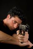 Gefährliche Waffe Lizenzfreie Stockbilder