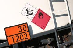 Gefährliche Waren Lizenzfreie Stockbilder