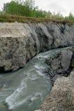 Gefährlicher Fluss Lizenzfreie Stockfotos