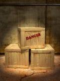 Gefährlicher Inhalt lizenzfreie stockfotografie