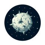 Gefährlicher Planetoid Stockbilder