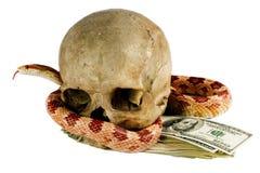 Gefährliches Geld. lizenzfreies stockbild
