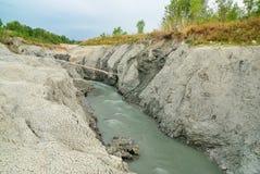 Gefährliches Wasser Lizenzfreies Stockfoto