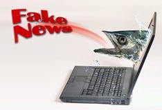 Gefälschte Nachrichten Lizenzfreie Stockfotos