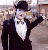 Gefälschter Charli Chaplin Lizenzfreie Stockfotos