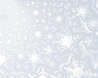 Gefälschter Hintergrund des Schnees Stockfoto