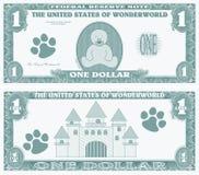 Gefälschtes Geld Stockbild