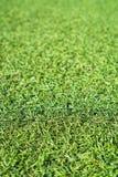 Gefälschtes grünes Gras lizenzfreies stockfoto