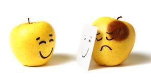 Gefälschtes Lächeln lizenzfreie stockbilder
