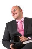 Gefälschtes Lachen Lizenzfreies Stockfoto
