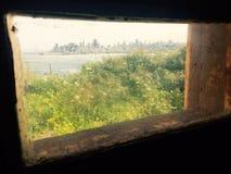 Gefängnis-Ansicht Stockbild
