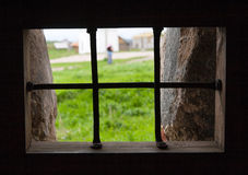 Gefängnis des Solovetsky-Klosters Lizenzfreie Stockfotos