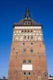 Gefängnis-Kontrollturm in Gdansk Stockfoto