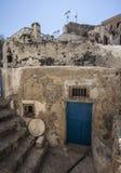 Gefängnis in Megalochori, Santorini Lizenzfreie Stockbilder