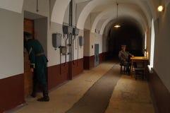 Gefängnis in Russland Stockbild