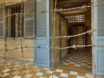 Gefängnis Tuol Sleng Stockfotografie