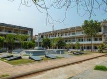 Gefängnis Tuol Sleng Stockfoto