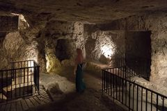 Gefängnis von Christus, Kloster des Praetorium stockbild