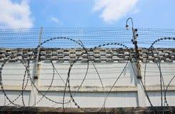 Gefängnis-Zaun Stockbilder