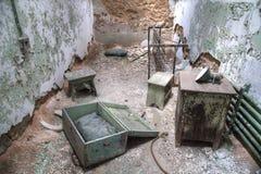 Gefängnis-Zelle Lizenzfreies Stockbild