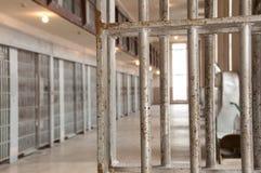 Gefängnis-Zellen Stockfoto