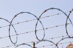 Gefängnisdraht stockfotos