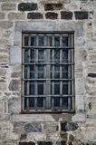 Gefängnisfenster Stockfotografie