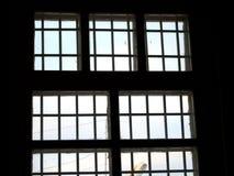 Gefängnisfenster Lizenzfreie Stockfotografie