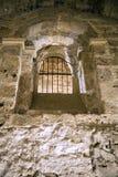 Gefängnisfenster Stockbild