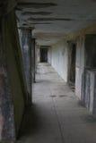 Gefängnishalle lizenzfreie stockfotos