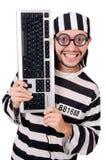 Gefängnisinsasse lokalisiert Stockfotografie
