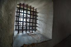 Gefängnisstäbe stockfoto