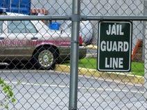 Gefängniszeichen stockbilder
