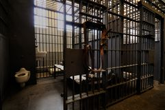 Gefängniszelle Lizenzfreies Stockfoto