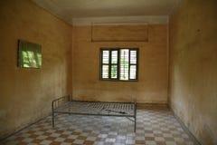 Gefängniszelle. Pnom Penh. Kambodscha Lizenzfreie Stockfotografie