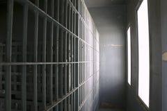 Gefängniszellen Stockfoto