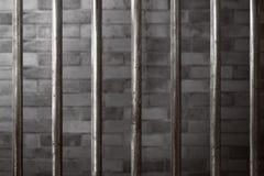 Gefängniszellhintergrund stockbilder