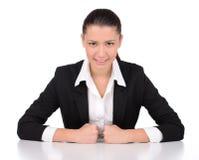 Gefühl-Geschäftsfrau stockfotos